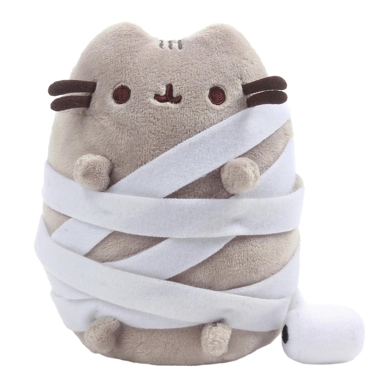 GUND Pusheen Mummy Halloween Cat Plush Stuffed Animal Gray 5