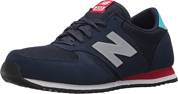 New Balance 420 70s Running, Zapatillas Unisex Adulto, Azul (Navy), 47.5 EU: Amazon.es: Zapatos y complementos