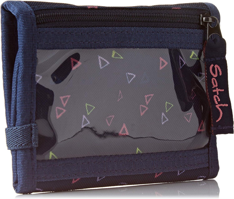 grau mint Satch pack Geldbörse Portemonnaie Geldbeutel Kind 13,5 cm