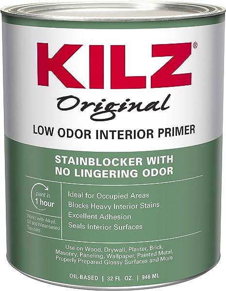Kilz Odorless Interior Oil Base Primer Sealer Stainblocker White