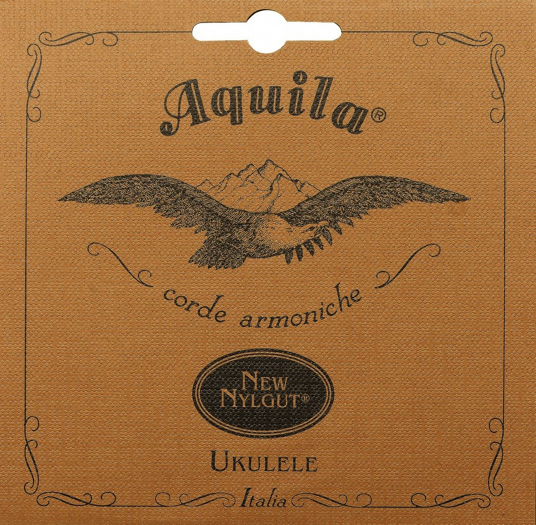Aquila Strings AQ-7U Nylgut Low G Concert Ukulele Strings Kelley Sales