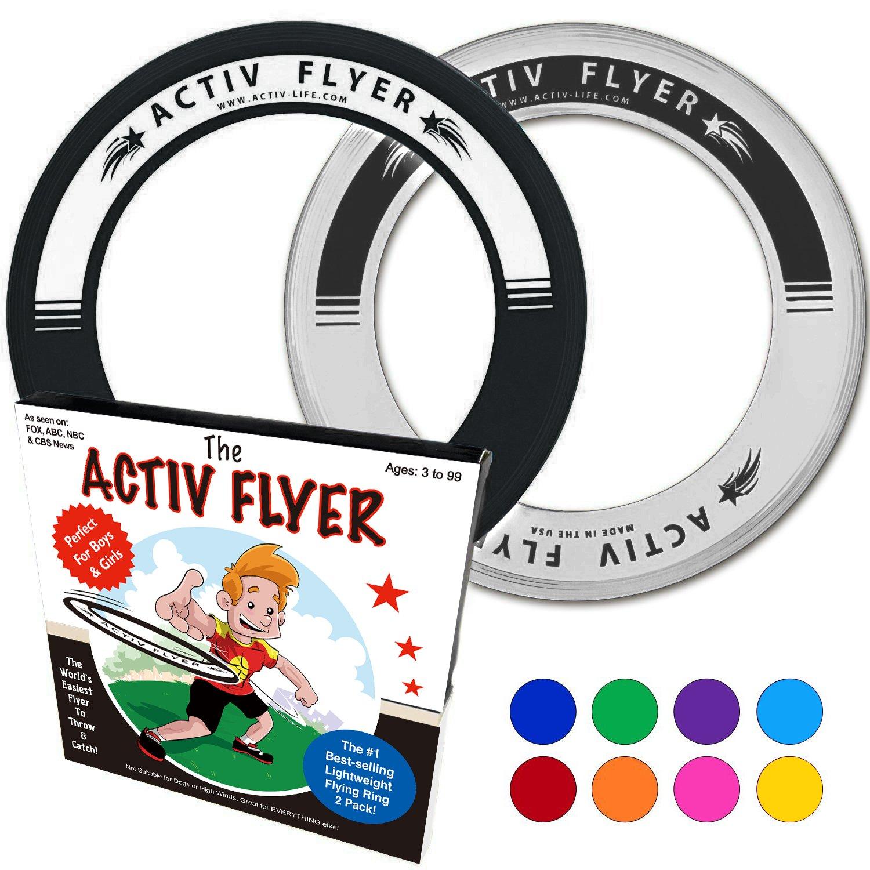 Amazoncom Activ Life Best Kids Frisbee Rings [Blackwhite]  80%