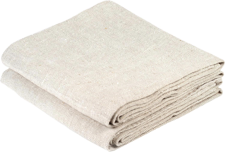 Nordic Plain Linen Cotton Kitchen Table Tea Towels Check Design Dish Cloth SI