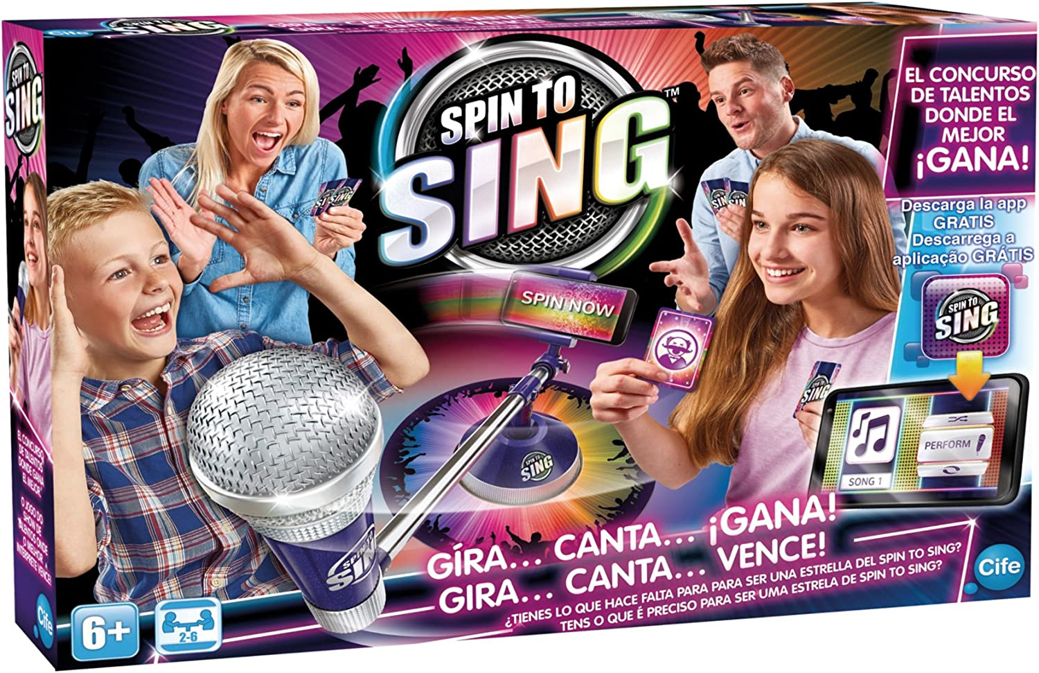 Spin to Sing/ Cife 41393 /The Talent Show Game,