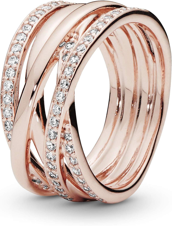 anello con pietra natale dicembre pandora