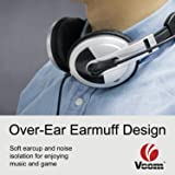 VCOM Computer Headsets with Adjustable
