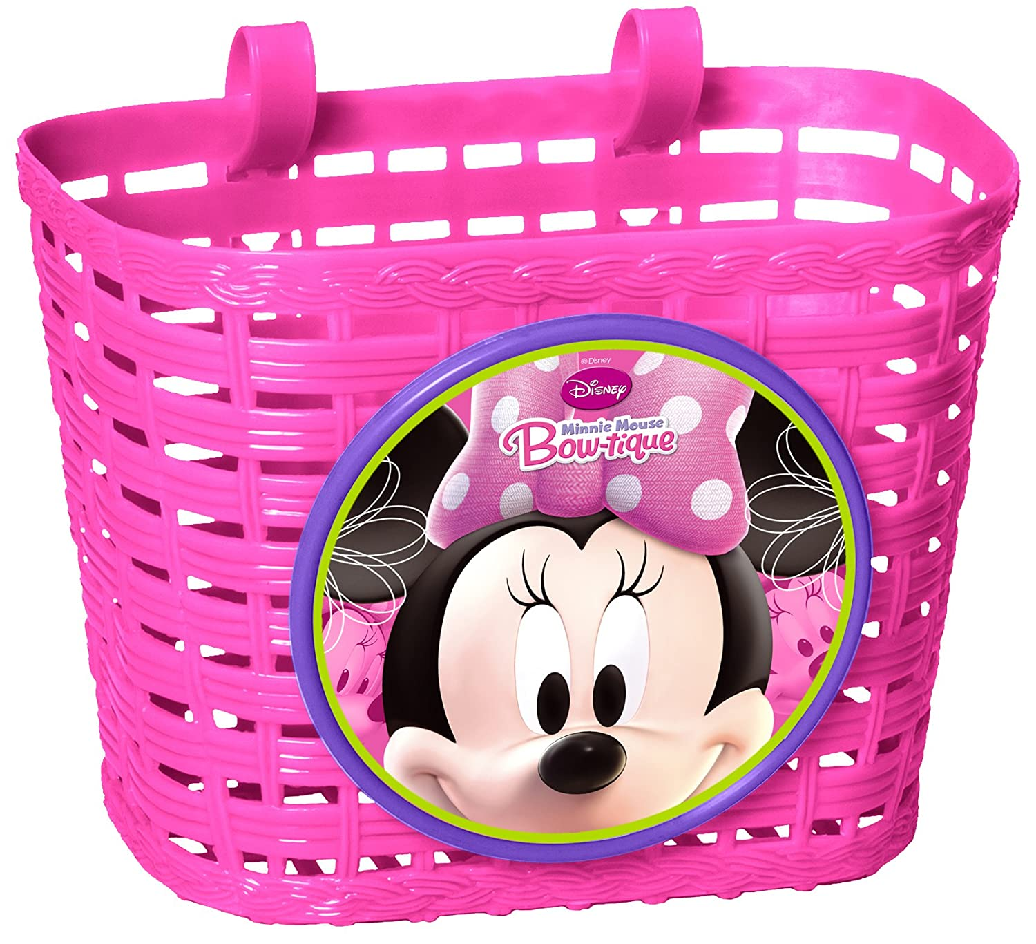 Minnie Mouse Combo con Cesta, Bidon y Timbre, Color Pink, 3+ ...