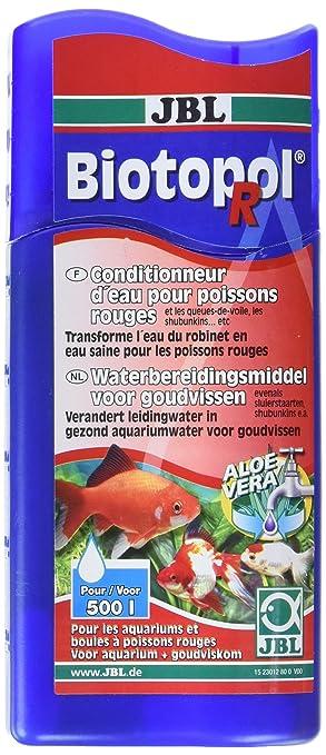 JBL Biotopol R Acuario para Peces Agua Tratamiento 250 ml: Amazon.es ...
