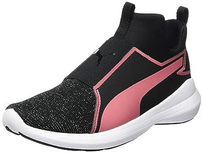 Rebel Mid, Sneakers Basses Femme, Noir (Black), 37 EUPuma