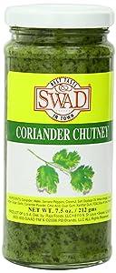 Swad Coriander Chutney, 7.5 Ounce