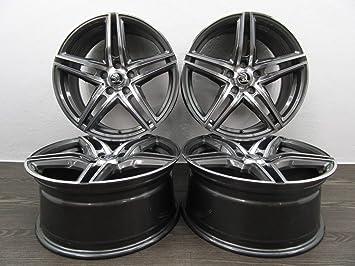 4 Llantas de aleación Borbet XRT 18 pulgadas para Skoda Karoq Kodiaq Octavia 5E Superb 3T 3V Yeti: Amazon.es: Coche y moto