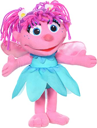 Amazon Com Sesame Street Mini Plush Abby Cadabby Doll 10 Inch Abby Cadabby Toy For Toddlers And Preschoolers Toy For 1 Year Olds And Up Toys Games
