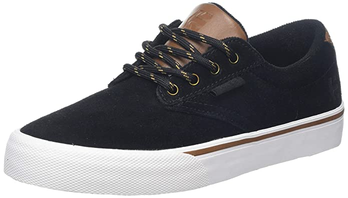 Etnies Jameson Vulc Sneakers Skateboardschuhe Unisex Erwachsene Schwarz