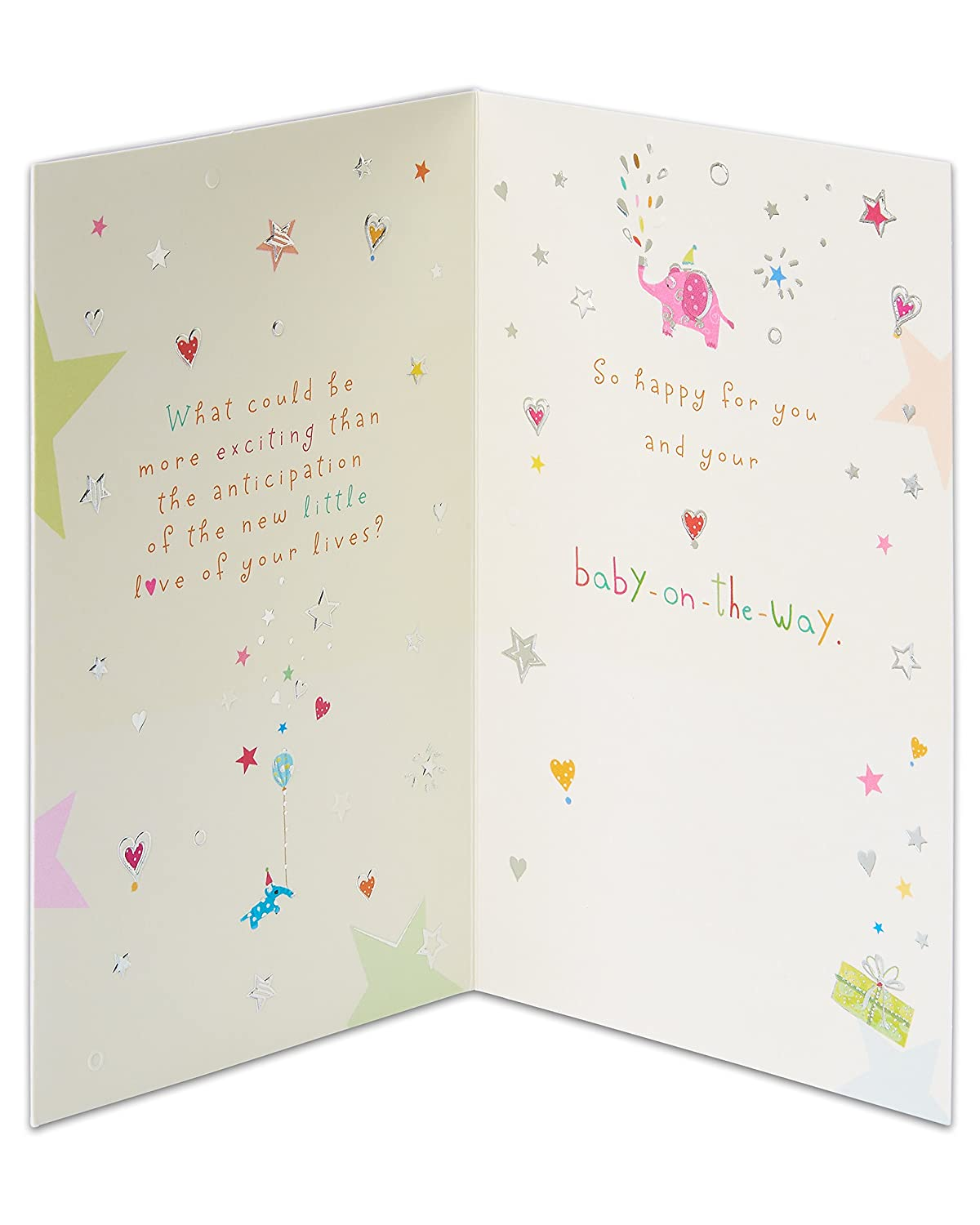 Amazon American Greetings Almost Here New Baby Congratulations