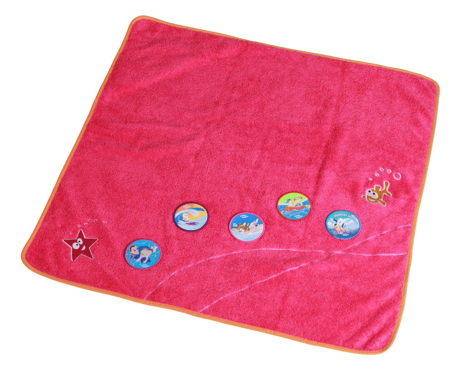Water Babies Baby Towel Fuchsia Pink, 0-18months