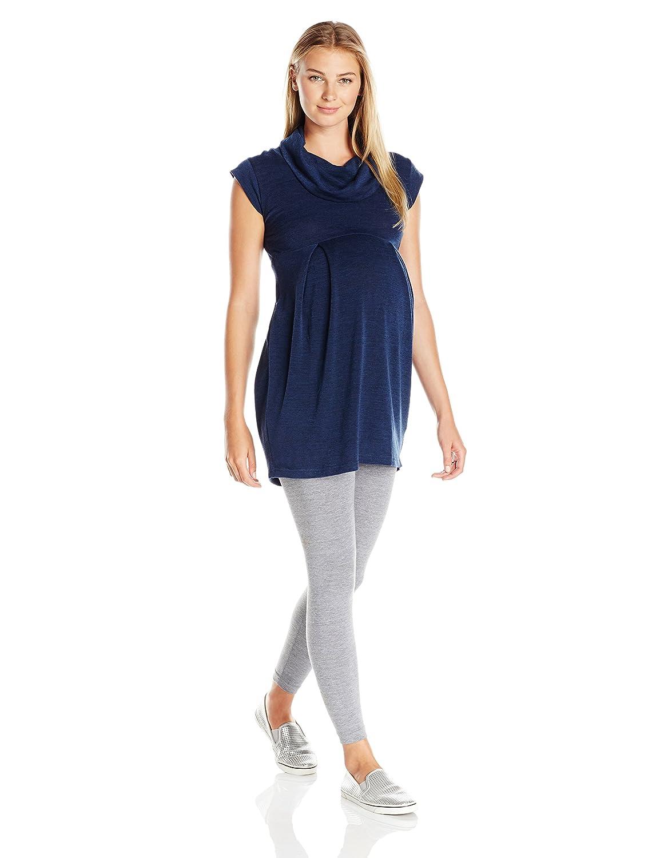 Ripe Maternity Women's Maternity Melange Tunic W6701