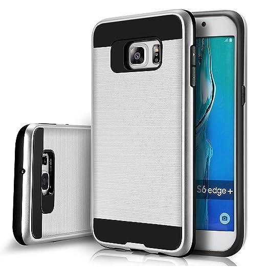 20 opinioni per tinxi® Custodia per Samsung Galaxy S6 edge +/S6 edge plus in PC e TPU Cover
