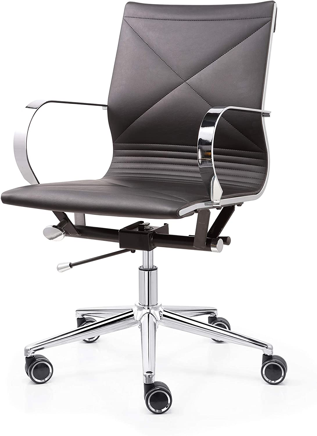 MEELANO Office Chair Black