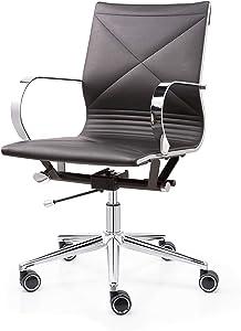 MEELANO Office Chair Black
