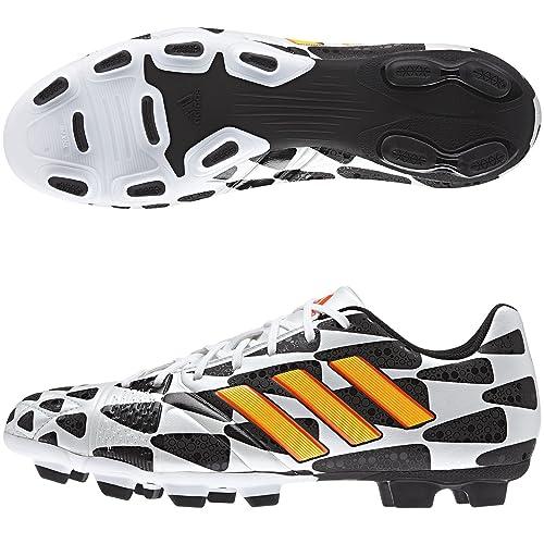 info for 7136e 1c53f adidas Nitrocharge 3.0 TRX FG WC Football Boots Running White Neon Orange Black   Amazon.co.uk  Shoes   Bags