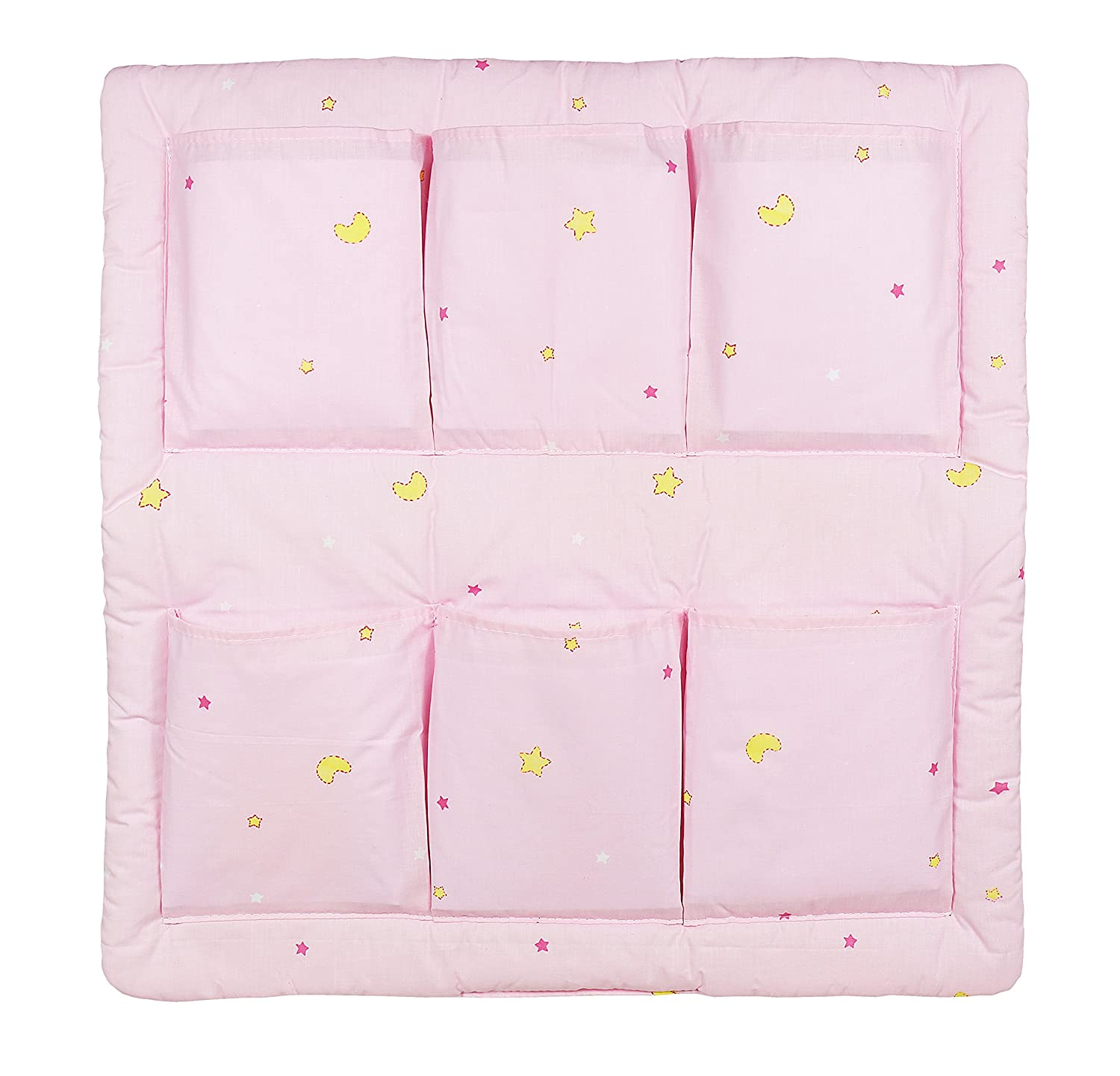 COT TIDY ORGANISER FOR COT /& COT BED MANY DESIGNS 6 POCKETS