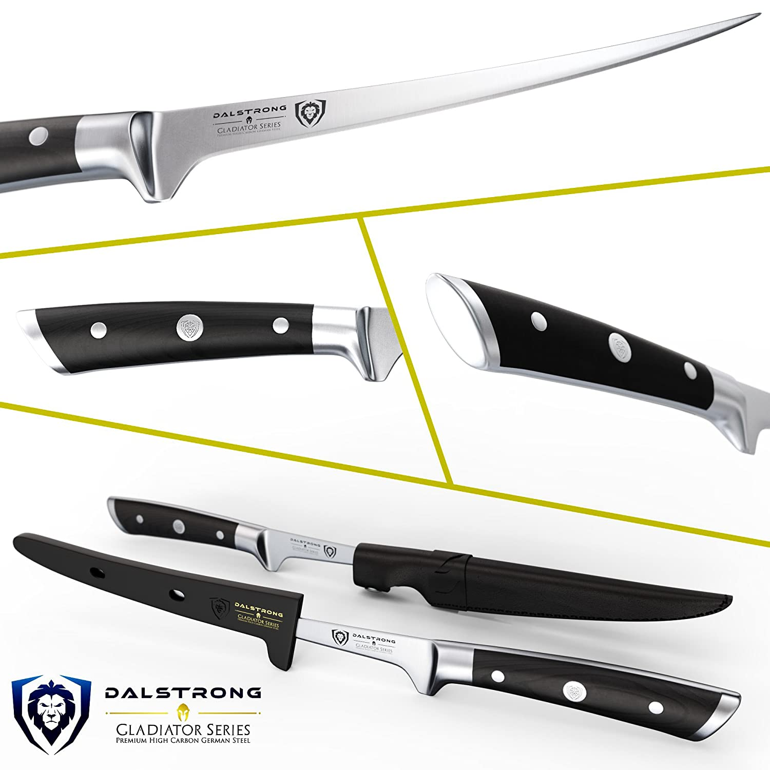 Amazon.com: Dalstrong Gladiator Series cuchillo para filete ...