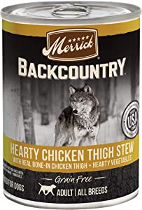 Merrick Backcountry Grain Free Canned Wet Dog Food (Case of 12)