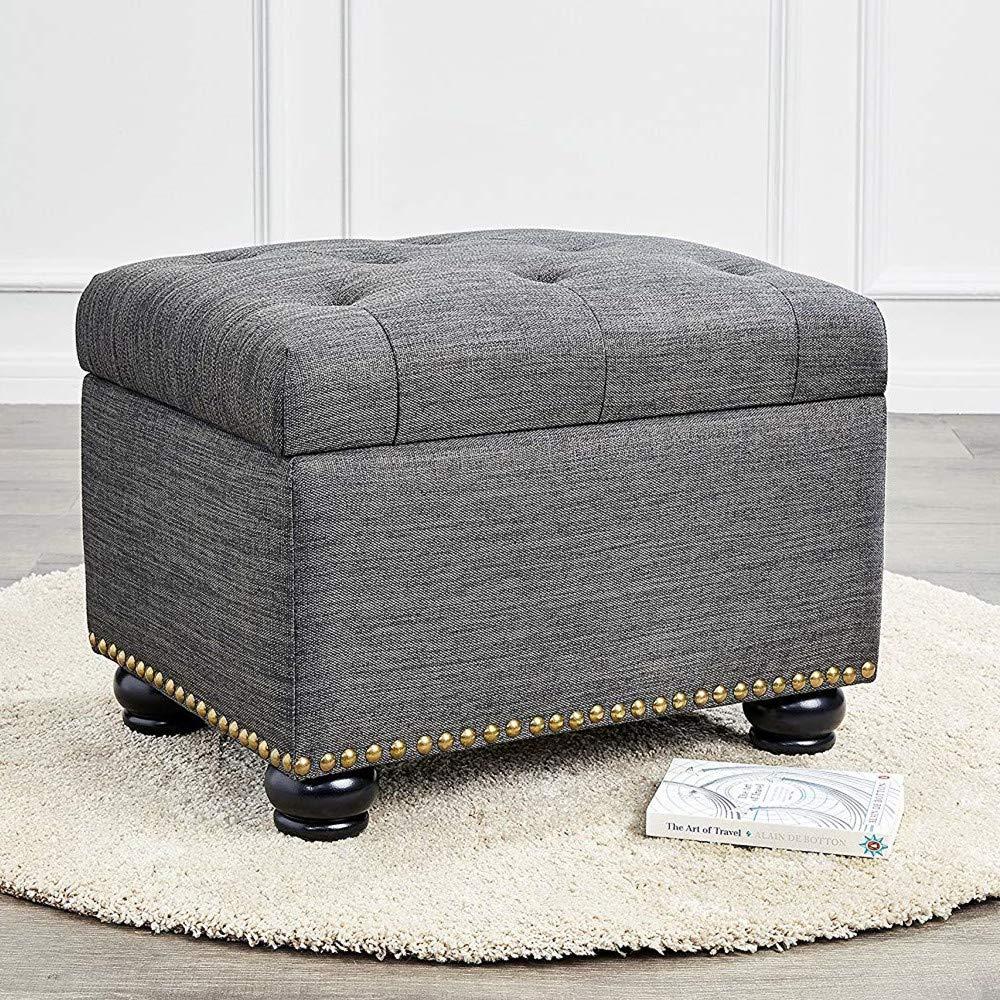 Creamy White Mysummer 4PCS Round Furniture Bun Feet Replacement for Armchair Couch Sofa Cabinet Chair Loveseat Ottoman Dresser Legs /…