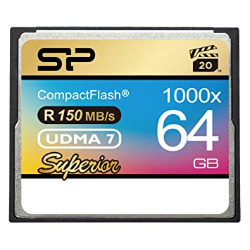Silicon Power 64GB 1000x Compact Flash memoria flash ...