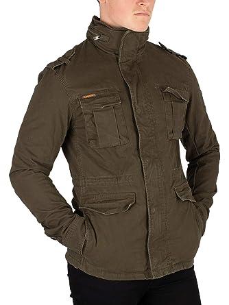 Superdry - Blouson - veste style militaire épaisse rookie  Amazon.fr ... 565934c0d99