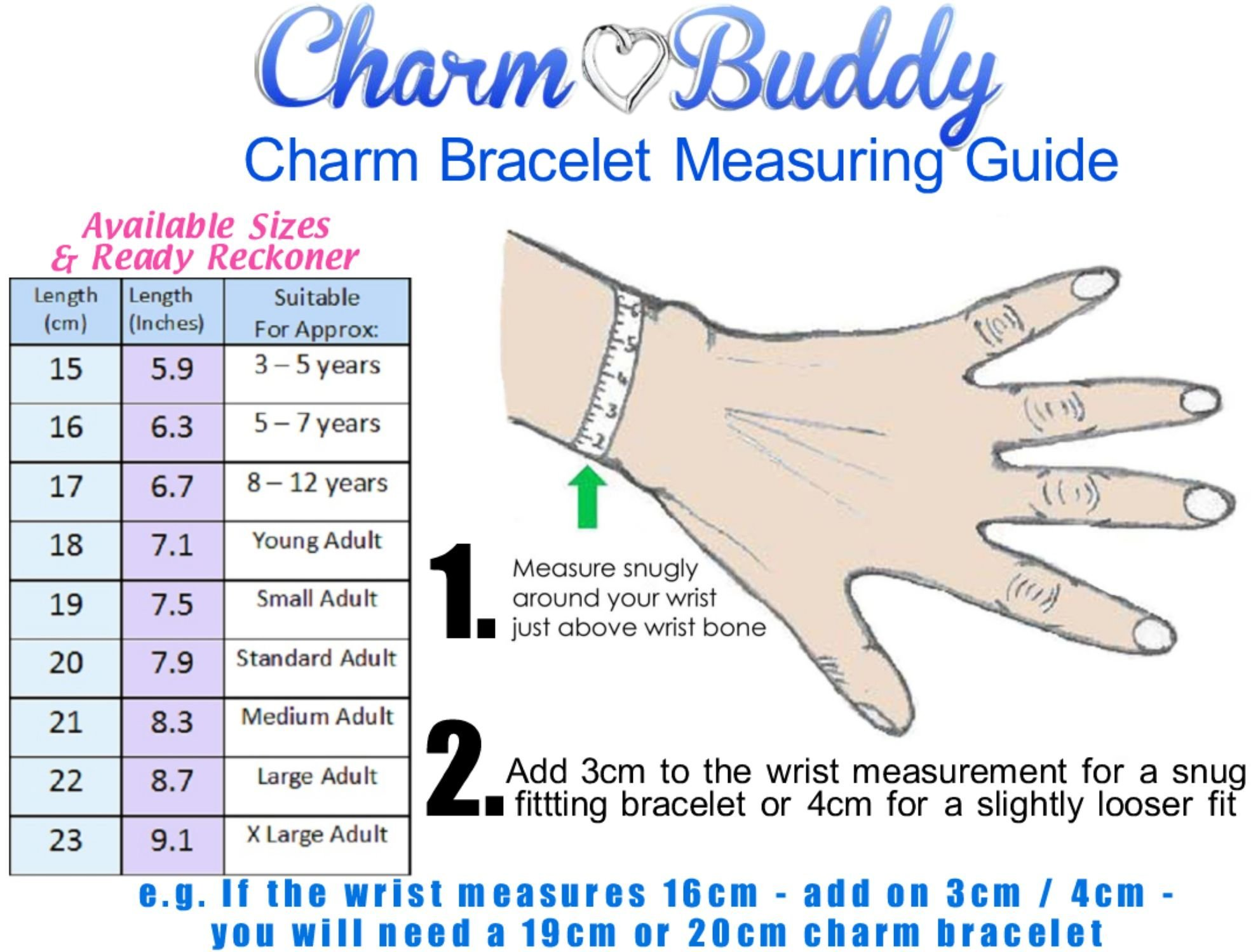 Charm Buddy Special Daughter Pink Silver Crystal Good Luck Pandora Style Bracelet With Charms Gift Box by Charm Buddy (Image #4)