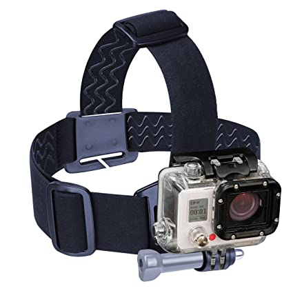 9ef2f3de231 Amazon.com   Head Strap GoPro Action Camera Mount with Stretch-Fit ...