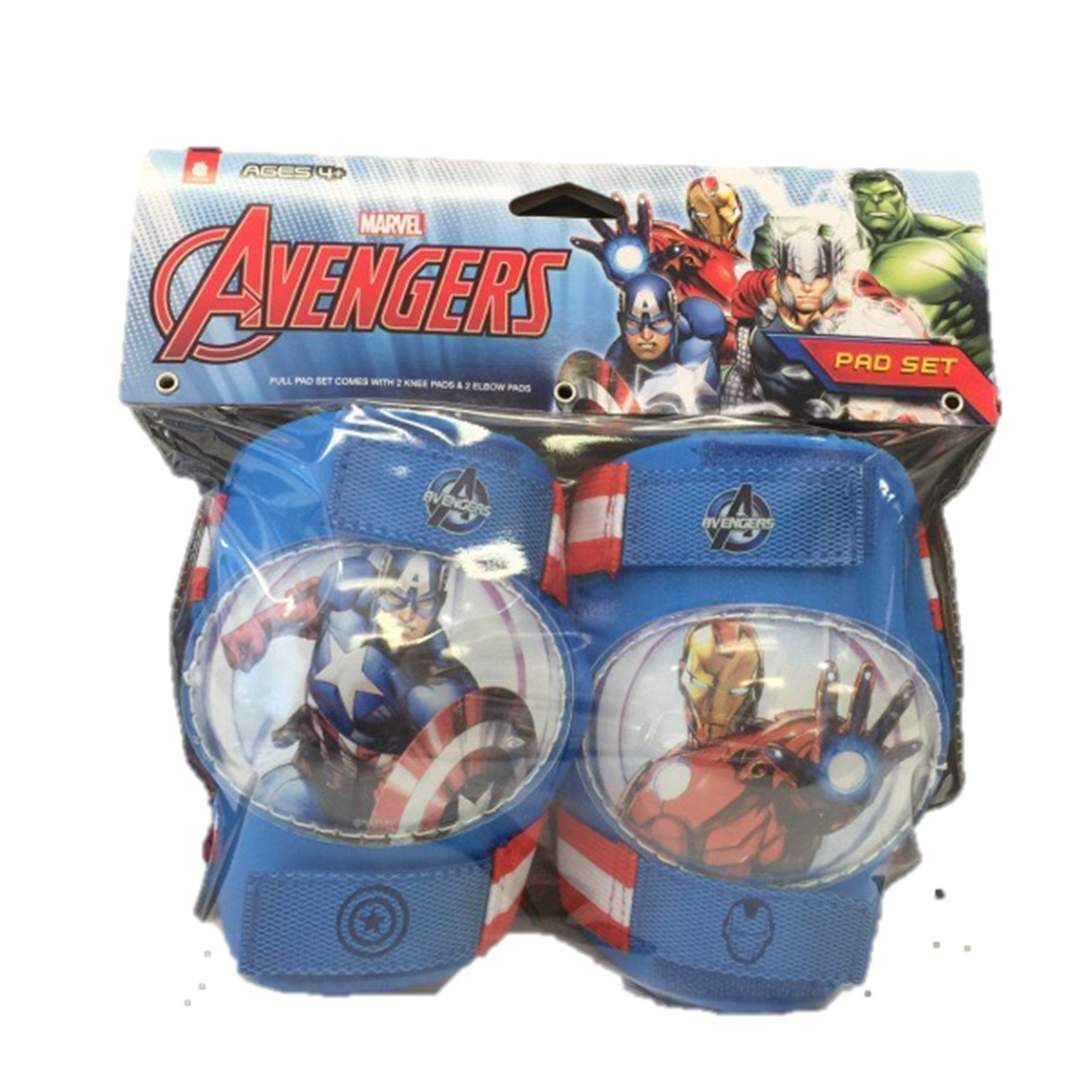 Marvel the Avengers Knee and Elbow Pads by Bell