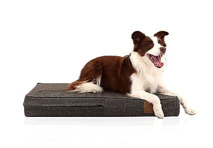 LaiFug - cama ortopédica para mascota/perro de espuma viscoelástica,