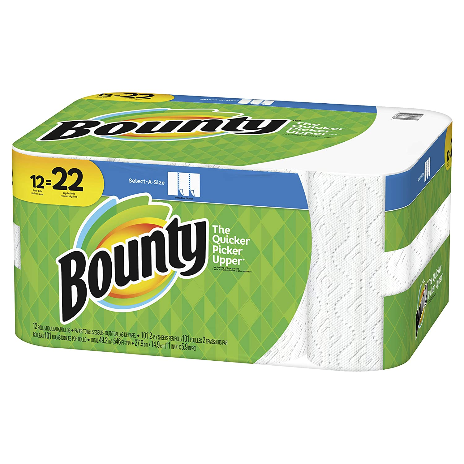 Bounty Select-A-Size Paper Towels, White, 12 ct: Amazon.com: Grocery & Gourmet Food