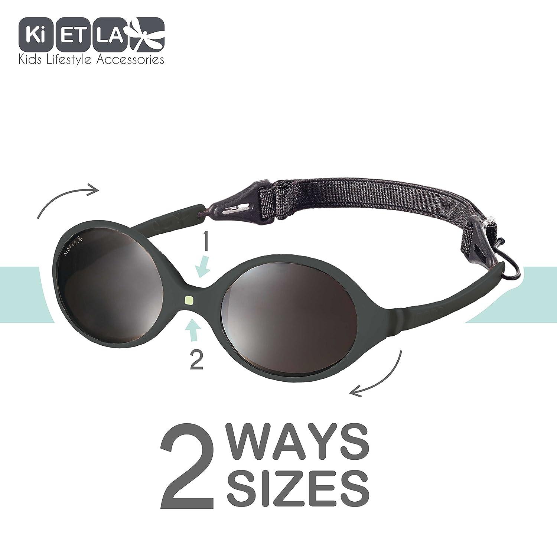 9380ca9467d Amazon.com  Ki ET LA – Sunglasses for babies Diabola style – 100%  unbreakable – Pink – 0-18 months  Clothing