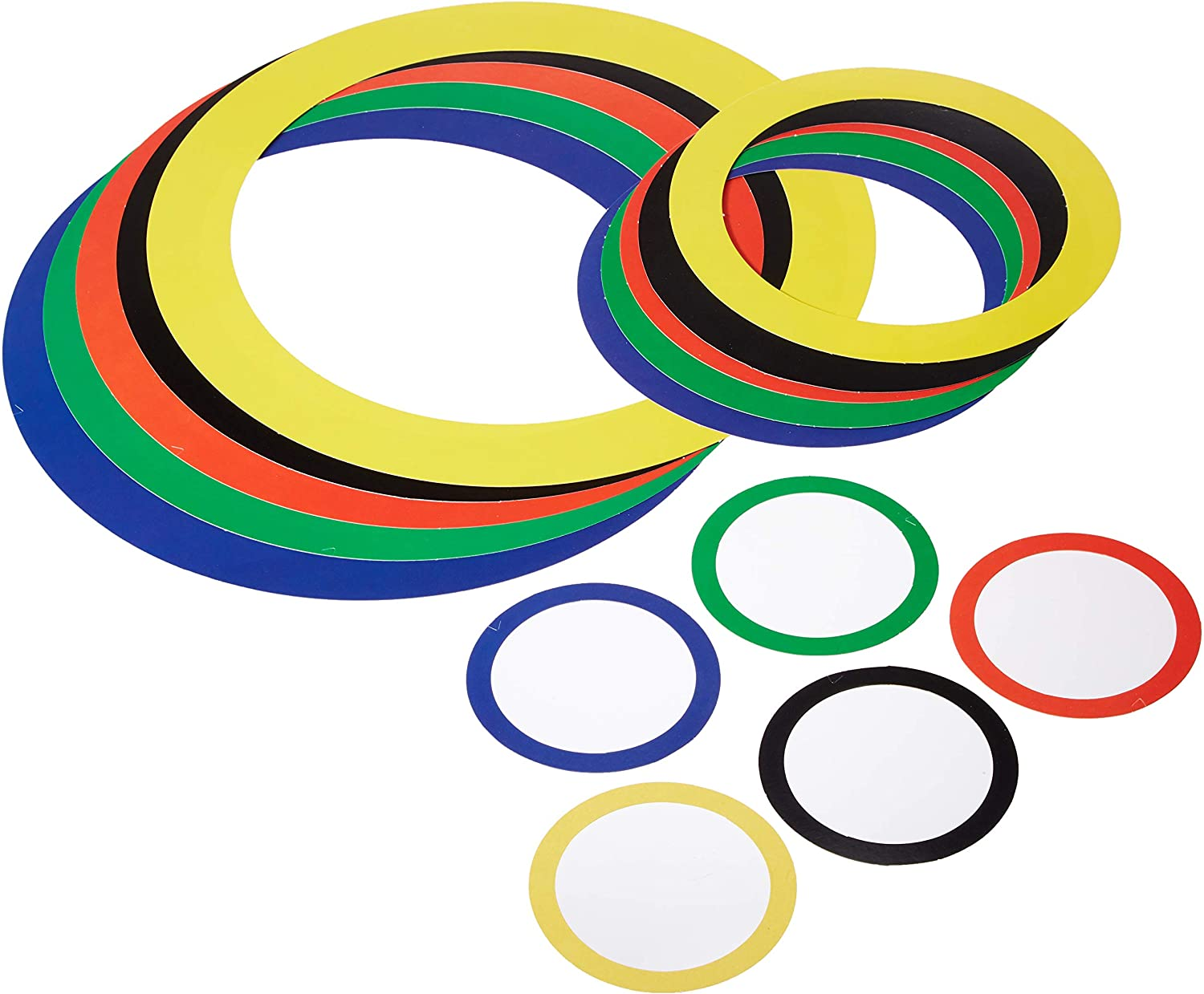 Sports Party Rings (asstd colors) Party Accessory(1 count) (15/Pkg)