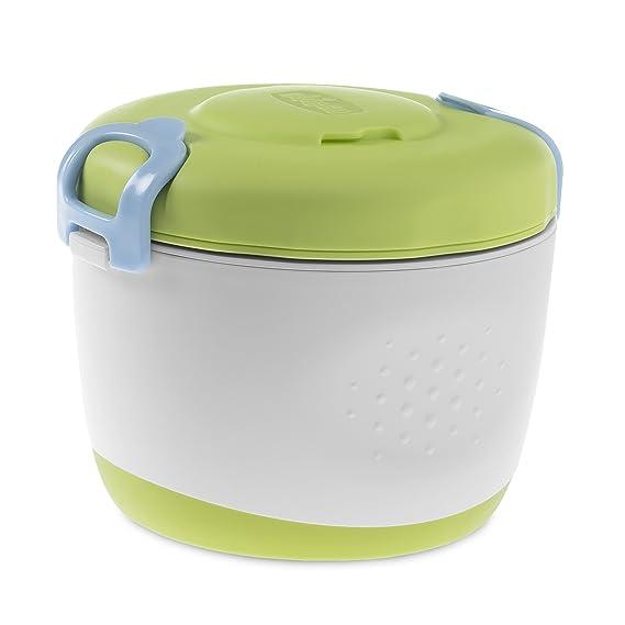 Chicco Easy Meal - Set Termo papilla con termo, recipiente y cuchara, 350ml, 6m+: Amazon.es: Bebé