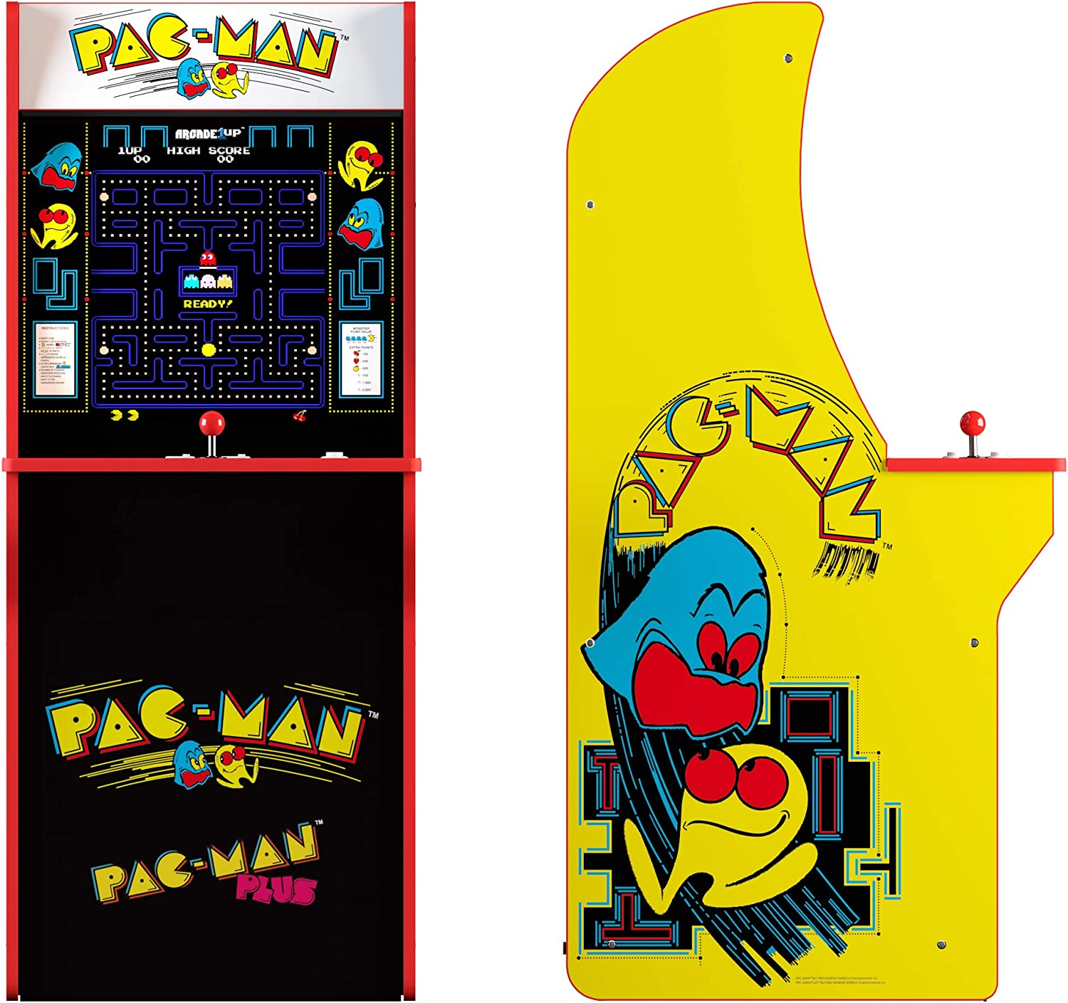 Arcade 1Up Pac-Man - Máquina Arcade Retro: Amazon.es: Juguetes y ...