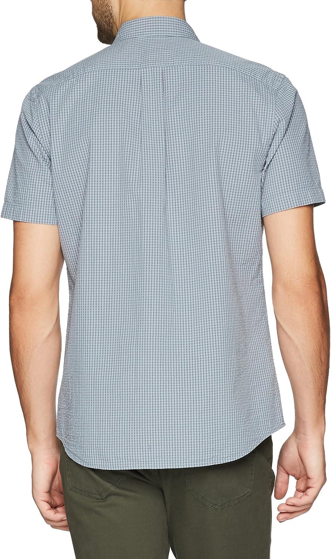 Brand Goodthreads Mens Standard-Fit Short-Sleeve Seersucker Shirt