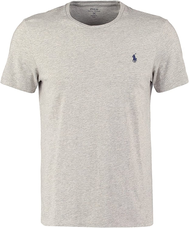 Ralph Lauren - Camiseta - Básico - Cuello Redondo - Manga Corta ...