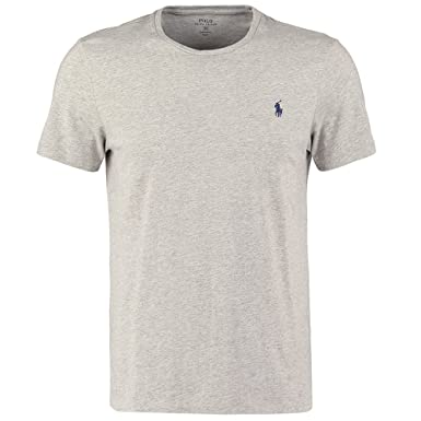 Image Unavailable. Image not available for. Colour  Ralph Lauren Men s Crew  Neck T Shirt. Short Sleeve. Custom Fit ... 8a6f9ae9156