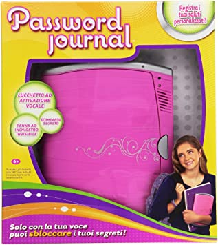 Amazon.es: Mattel Radica BCF87 Password Journal 8 - Diario con contraseña [Importado de Italia]: Juguetes y juegos