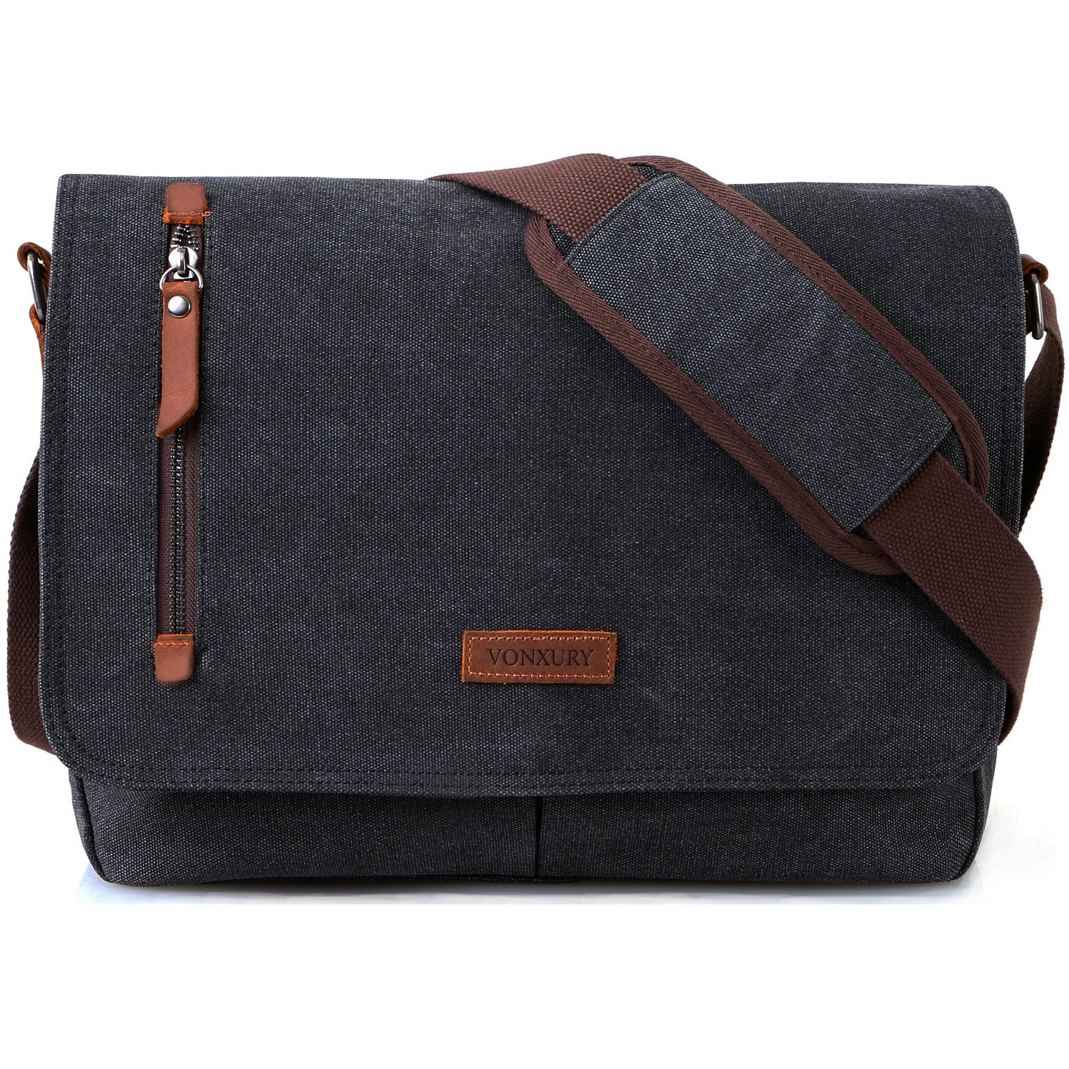 37eb75098a54 Amazon.com  14 Inch Laptop Messenger Bag for Men and Women