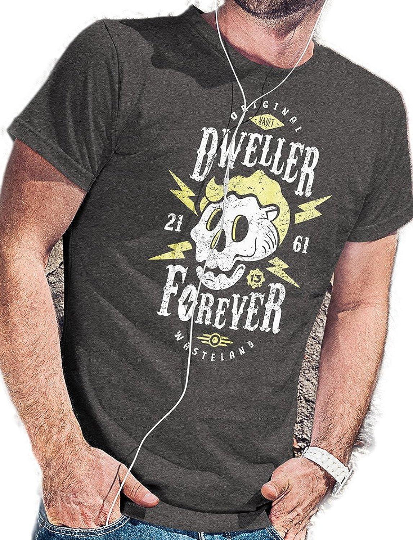 Agooder Cotton Dweller Forever T-Shirt - LeRage Shirts MEN'S Short Sleeve