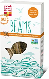 product image for The Honest Kitchen Beams Grain Free Dog Chew Treats - Natural Human Grade Dehydrated Fish Skins 7 oz Tall