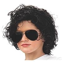 Rubie's Michael Jackson rizado niño peluca