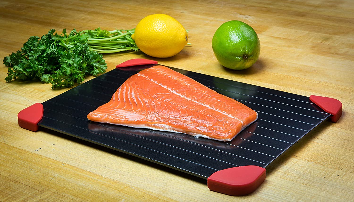 FranCo Rapid Defrost Tray. Safe Natural Way to Defrost Food With No Electricity or Hot Water.
