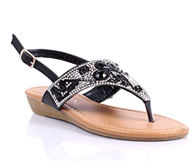 73759ea340b8 Fashion Buckle Youth Size Cute Blink Dressy Glitter Kids Girls Rhinestone  Sandals Casual Shoes New Without