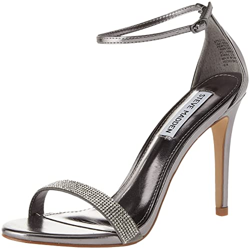 225f9cbbb9d Steve Madden Women's Stecy Open Toe Heels: Amazon.co.uk: Shoes & Bags